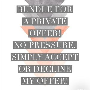 Accessories - Bundle your likes for my best offer!